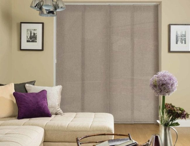 Oslo panel blinds