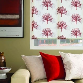 Roller Autumn Ruby Blinds