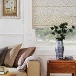 Confetti roman blinds