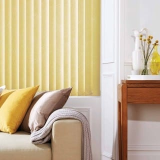 Vertical primrose vertical blinds