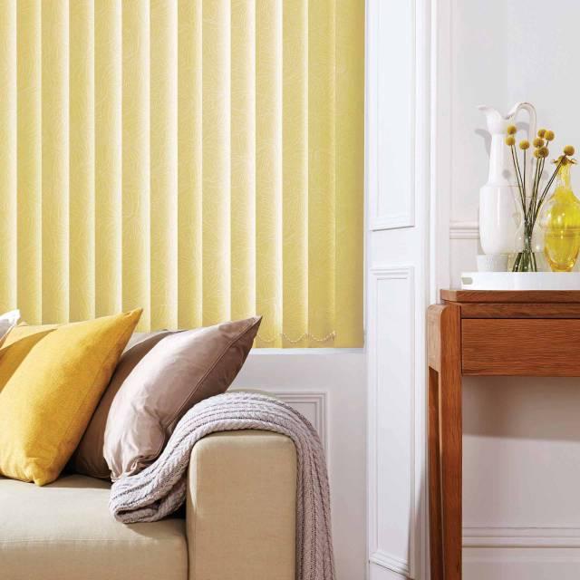 Vertical primrose vertical blinds