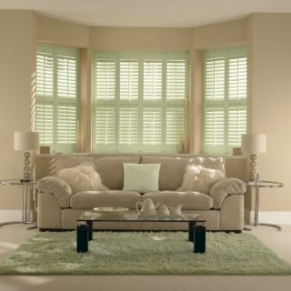 Light Green Shutters