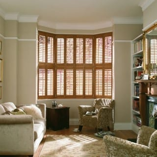 Solid Oak Shutters