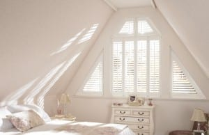 Triangular Shutters in Wakefield