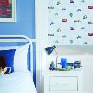 Motorised blind for a child's bedroom