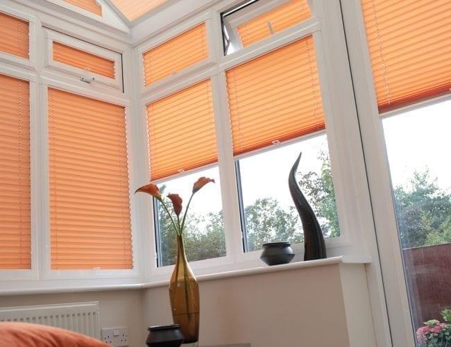 Orangery venetian blinds